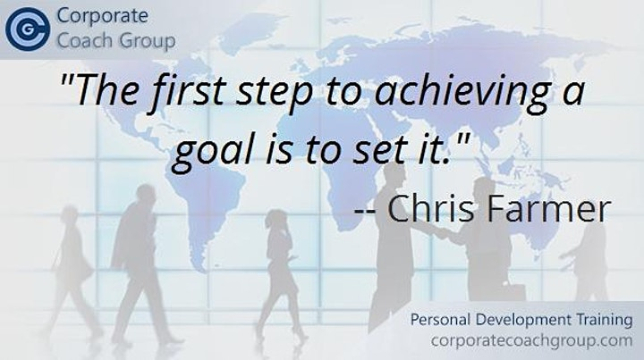 Goal Setting, Communication and Conflict Training (1 day course Cardiff) image