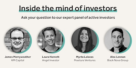 Inside the mind of investors (Investor Panel) tickets
