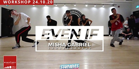 "HipHop Workshop ""Even if"" billets"