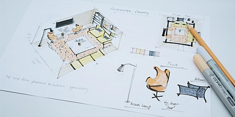 Interior Design: Axonometric Drawing of a Living Room (ONLINE WORKSHOP) tickets