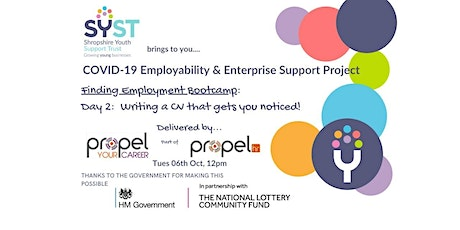 Finding Employment Bootcamp/Writing CV's tickets