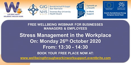 Stress Management in the Workplace tickets