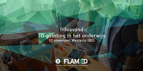 3D-printing in het onderwijs tickets