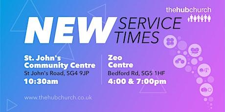The Hub 7pm Service tickets