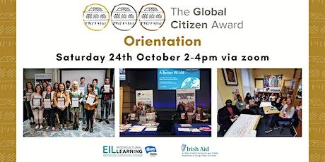 Global Citizen Award Orientation tickets