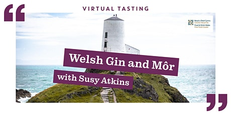 Welsh Gin and Môr with Susy Atkins tickets