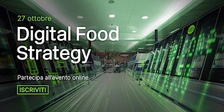 Digital Food Strategy: Le aziende dell'alimentare diventano smart biglietti