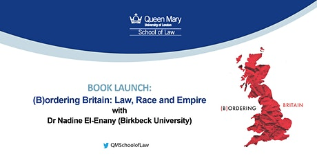 BOOK LAUNCH: (B)ordering Britain: Law, Race and Empire tickets