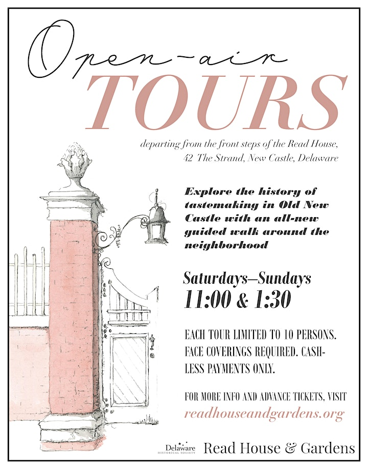 Read House & Gardens Open-Air Tours image