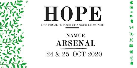 HOPE: des projets pour changer le monde tickets