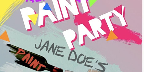 Jane Doe's Paint N Sip entradas