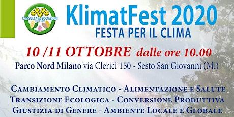 KlimatFest 2020 biglietti
