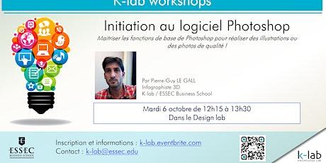 K-lab workshops - Initiation au logiciel Photoshop - Ouvert à tous billets