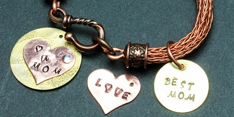 Adult/Teen Class: Viking Knit Bracelet with Stamped Copper Charm - Dec 12 tickets
