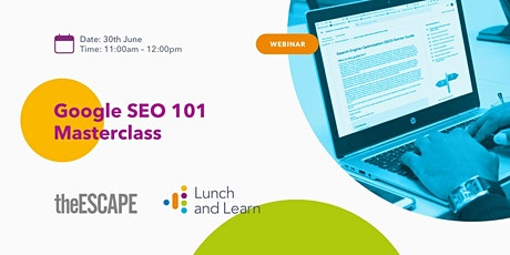 A Masterclass in Search Engine Optimisation tickets