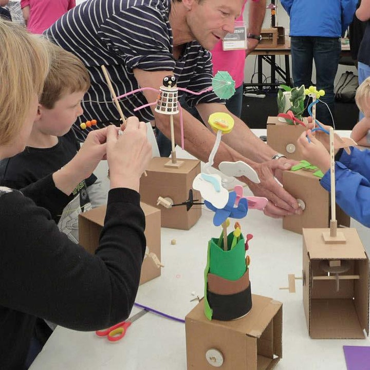 SSF20 Fair Day - Automata – Mechanical Art Workshop with Fire the Inventor image