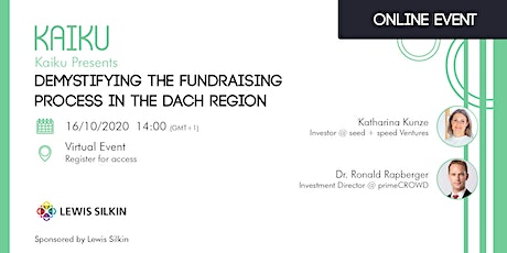 Demystifying the Fundraising Process in the DACH Region tickets