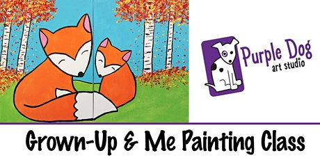 Grown-Up & Me Paint Class tickets