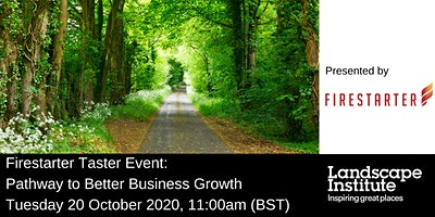 Firestarter Taster Event: Pathway to better business growth