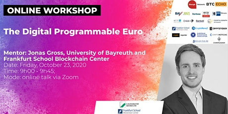 The Digital Programmable Euro (Online Workshop) Tickets