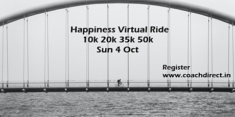 happiness free virtual run and ride tickets