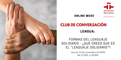 Club de Conversación en español - Sesión 3 biglietti