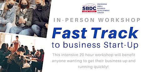 Fast Track to Business Start-Up Workshop - November 2020 tickets