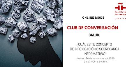 Club de Conversación en español - Sesión 4 entradas