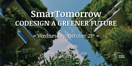 SmarTomorrow- Codesign a greener future Tickets