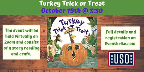 """USO VIRTUAL Story Time """"Turkey Trick or Treat"""" tickets"""