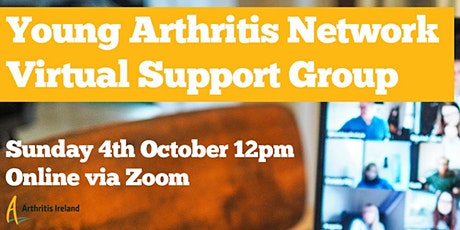 Young Arthritis Network Virtual Support Group tickets