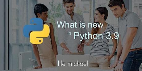 What is new in Python 3.9 [Free Meetup] biglietti