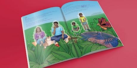 """Voorleesmoment en leuke tekenworkshop bij het boek """"Tekke de teek"""" - 4-8 jr tickets"""