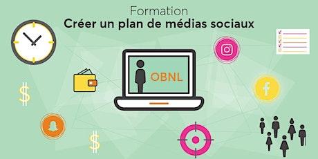 Créer un plan de médias sociaux billets