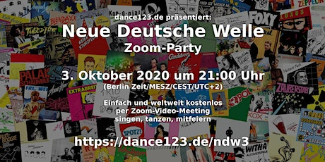 Neue Deutsche Welle [Zoom Dance Party] Tickets