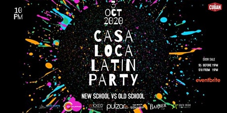 Old School vs New School Latin Party tickets