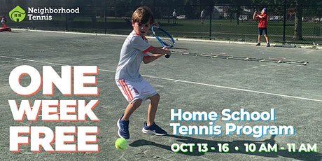 FREE Home School Tennis Program tickets