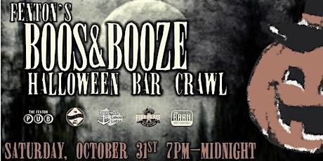 Fenton's Halloween Bar Crawl 2020 tickets