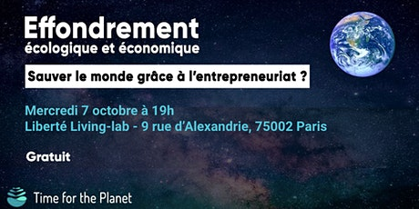 Afterwork Time for the Planet au Liberté Living LAB billets