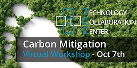 Carbon Mitigation Virtual Workshop tickets
