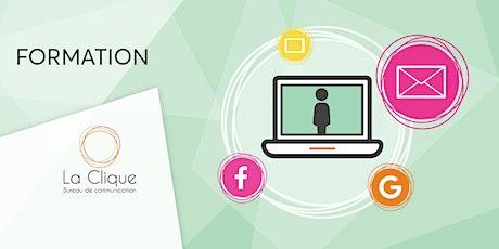 OBNL : Organisation d'une stratégie web billets