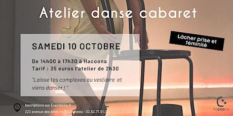 Atelier danse cabaret billets