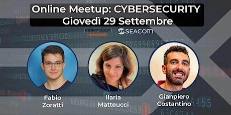 CyberSecurity @XstreamData biglietti
