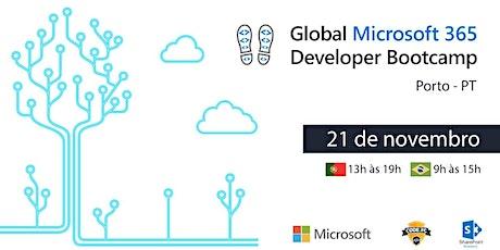 Microsoft 365 Developer Bootcamp 2020 - Porto bilhetes
