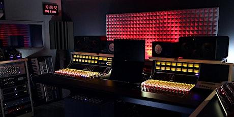 Master Class : Premier stage en studio d'enregistrement avec Julien Maurel billets