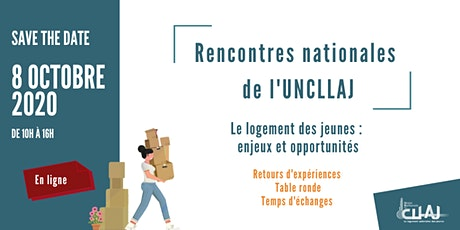 SAVE THE DATE / Rencontres Nationales de l'UNCLLAJ billets