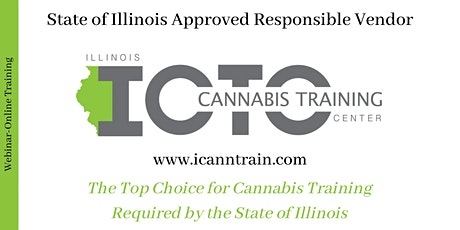 Webinar Dispensary Agent Training - State Approved Vendor tickets