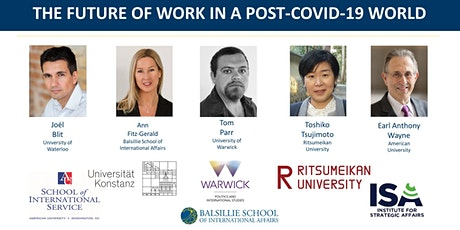 Global Insights: The Future of Workin a Post-COVID-19 World tickets