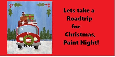 Christmas Road Trip, Paint Night tickets