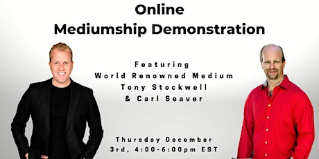 Two Mediums - One Online Mediumship Demonstration tickets